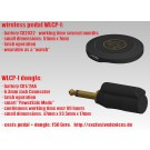 WLCP-I (wireless pedal + adapter)